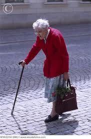 alexander pappas: old woman walking