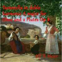 Meier, Alf: Tarantella in Double Harmonic A major