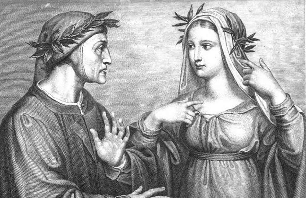 Caron, André: Dante et Béatrice