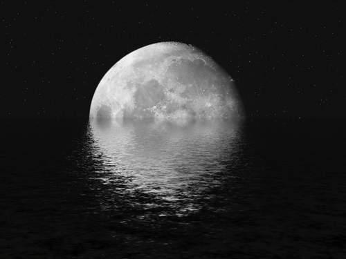Caron, André: A la lune de Verlaine