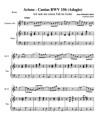 Arioso - Cantas BWV 156 (Adagio)
