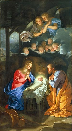 Traditional: He is born, the Holy Child ! (french lyrics)
