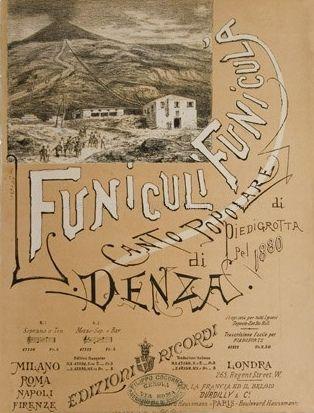 Denza, Luigi: Funiculì Funiculà