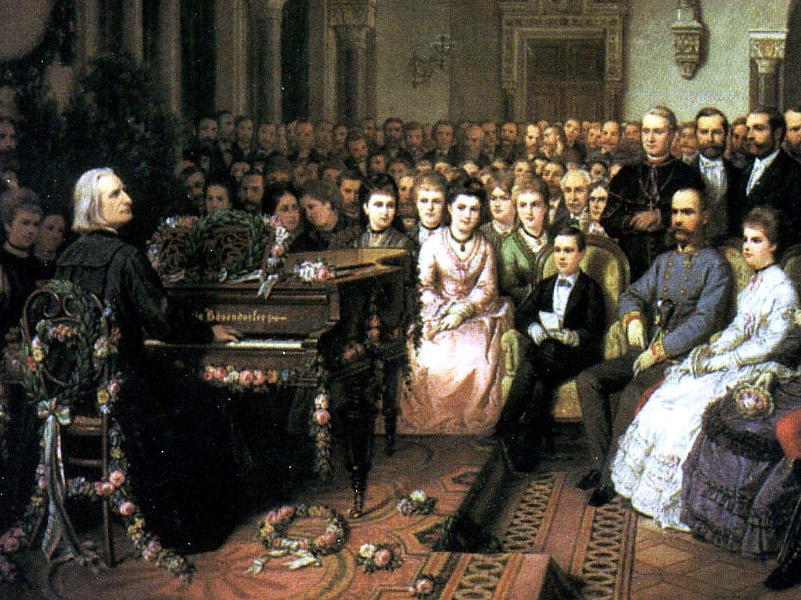 Liszt, Franz: Pièces célèbres (Thèmes principaux)