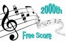 Dewagtere, Bernard: 2000th Free score