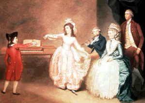 Mozart, Leopold: Menuet en Ré mineur