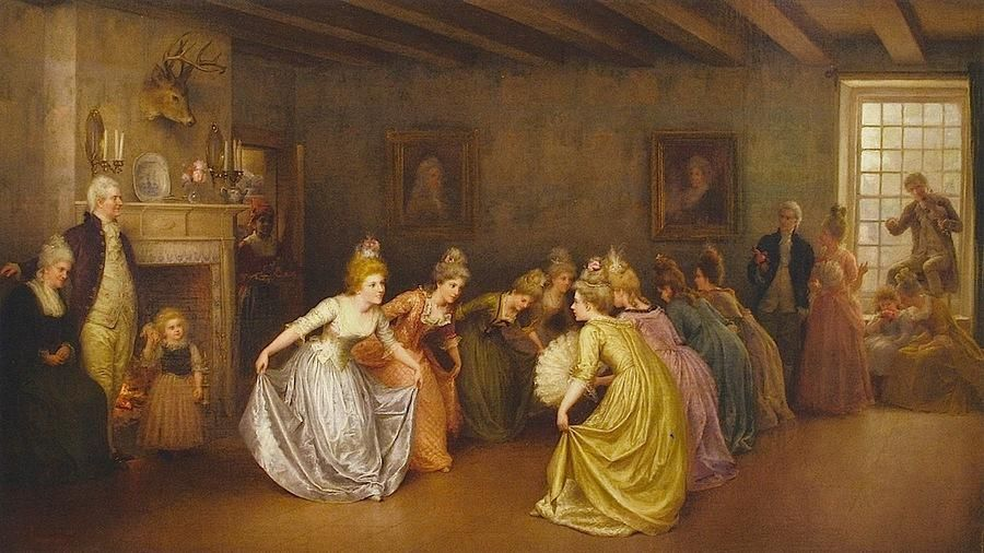Bach, Johann Sebastian: Menuet