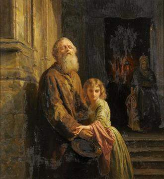 Dewagtere, Bernard: Le mendiant