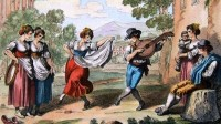 Telemann, Georg Philipp: Rigaudon en La mineur
