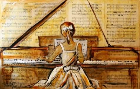Dance Allemande en Do M, N°1