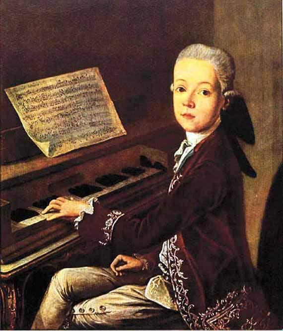 Mozart, Wolfgang Amadeus: Allegretto en Fa Majeur