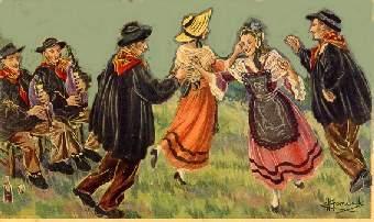 Graupner, Christoph: Bourrée in D minor