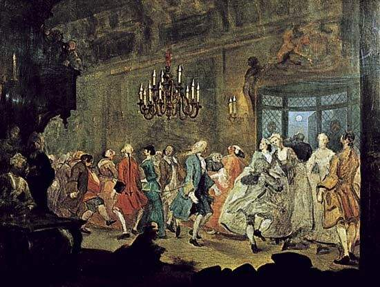 Beethoven, Ludwig van: Country dance in A