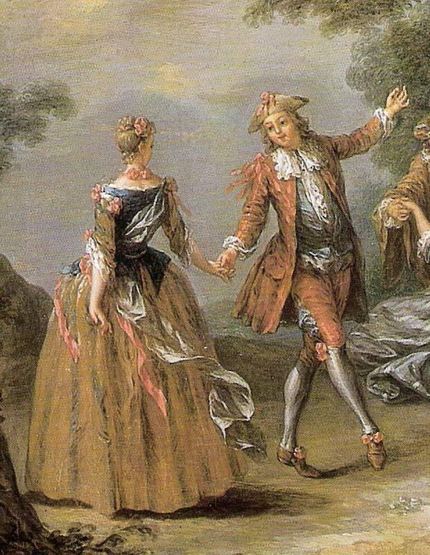 Hässler, Johann Wilhelm: Menuet en Do Majeur, n°2