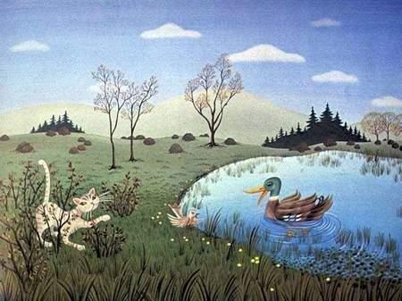 Prokofiev, Sergei: Pierre et le loup – 4. Le chat