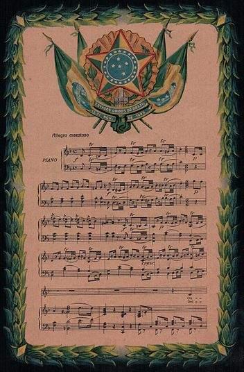 Da Silva, Francisco Manuel: Hymne national du Brésil
