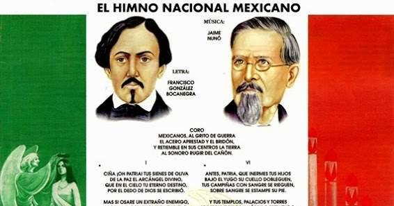 Nunó, Jaime: Hymne national du Mexique