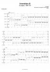 Bach, Johann Sebastian: Invention 8 en Fa majeur