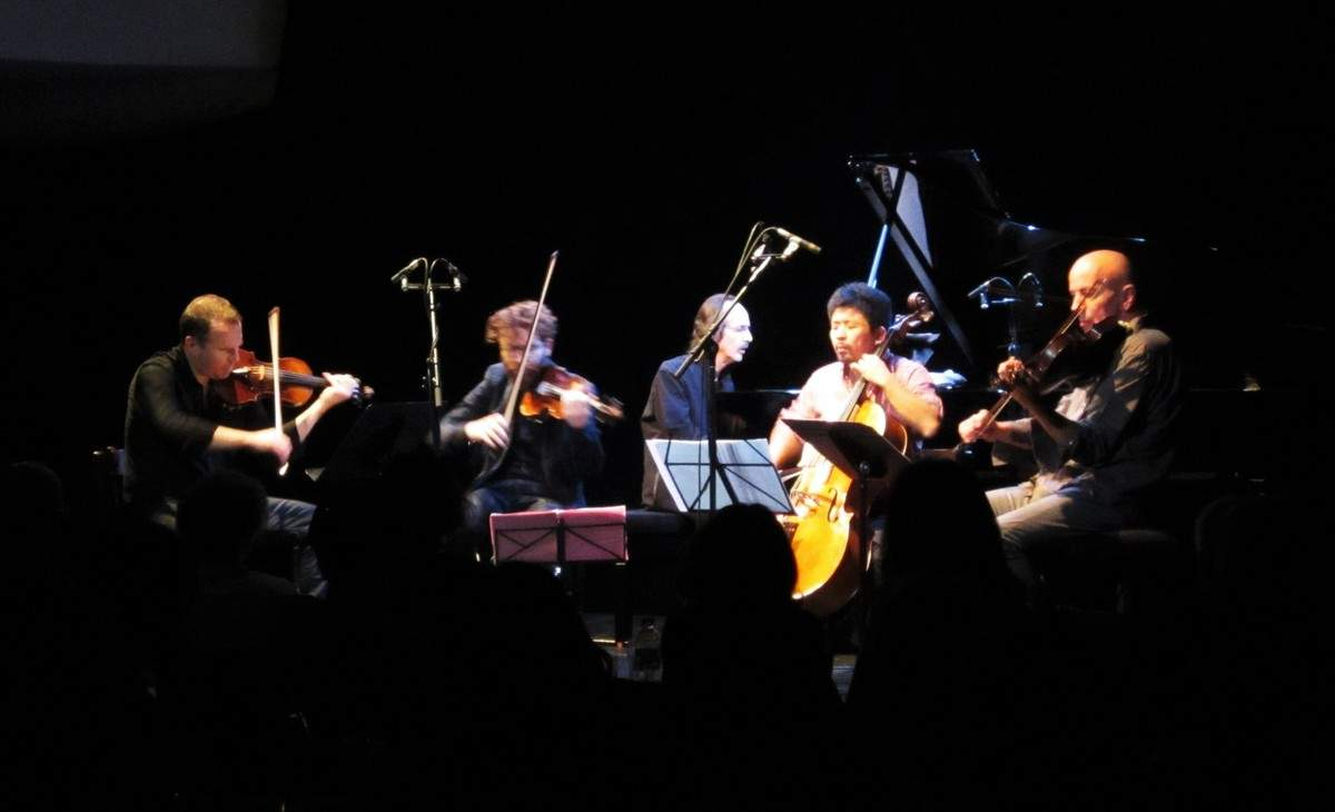 cocorullo, fabrice: Septuor Quatuor à cordes Guitare et Celesta Mouv.I