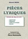 4 PIECES LYRIQUES