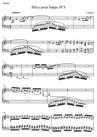 Pièce pour harpe N°3