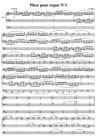 Pièce pour orgue N°1