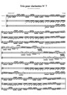 Trio pour clarinettes N°7