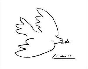 A propos des colombes