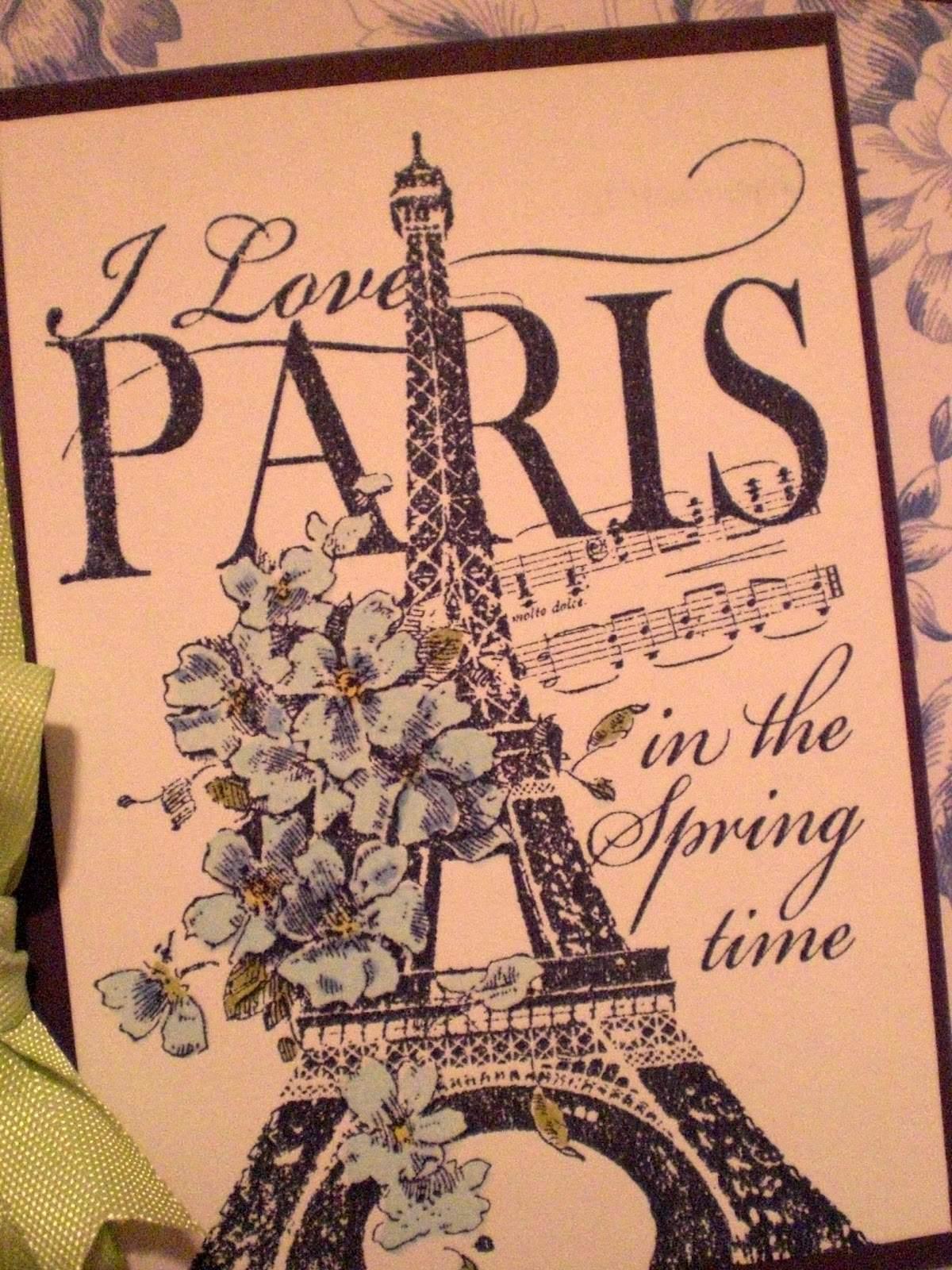 CRENN, Jean-Christophe: SPRING IN PARIS