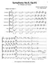 """Symphony No.9, Op.95 """"4. Allegro con fuoco"""""""