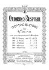 5 Pieces pour Violon et Piano