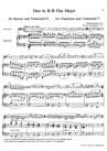 Grand Duo en Si bémol majeur pour Violoncelle et Piano