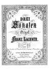 Sonate No.1 en Fa mineur