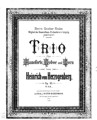 Trio pour Hautbois, Cor et Piano