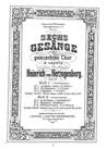 Gesänge für gemischten Chor
