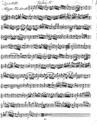 Quatuor pour le clavecin, ou fortepiano, deux violons et basse.