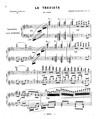 """Melodia variata on Verdi's """"La Traviata"""""""