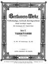 33 Variations sur une valse de Diabelli
