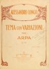 Tema con variazioni per arpa
