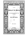 Song of the sweep : for four-part chorus of men's voices a cappella
