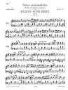 Schubert, Franz Peter: 34 Valses Sentimentales