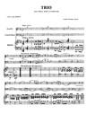 Trio pour Flûte, Violoncelle et Piano