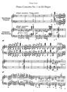 Concerto pour piano n° 1 en mi b majeur