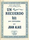 Un Recuerdo (Vals) op.30
