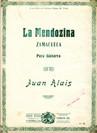 La Mendozina (Zamacueca) op.41