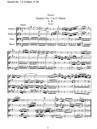 Quatuor No. 1 en Sol majeur