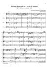 String Quartet nr. 18 in E minor