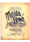 Jones, Louis Weslyn : Matilda Brown