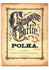 Schmitz, L. Joseph : Champagne Charlie polka