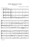 Quatuor à Cordes en Sol majeur, No. 1